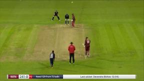 Taylor wicket - b Rashid