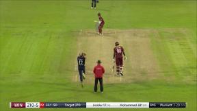 Mohammed wicket - c Bairstow b Plunkett