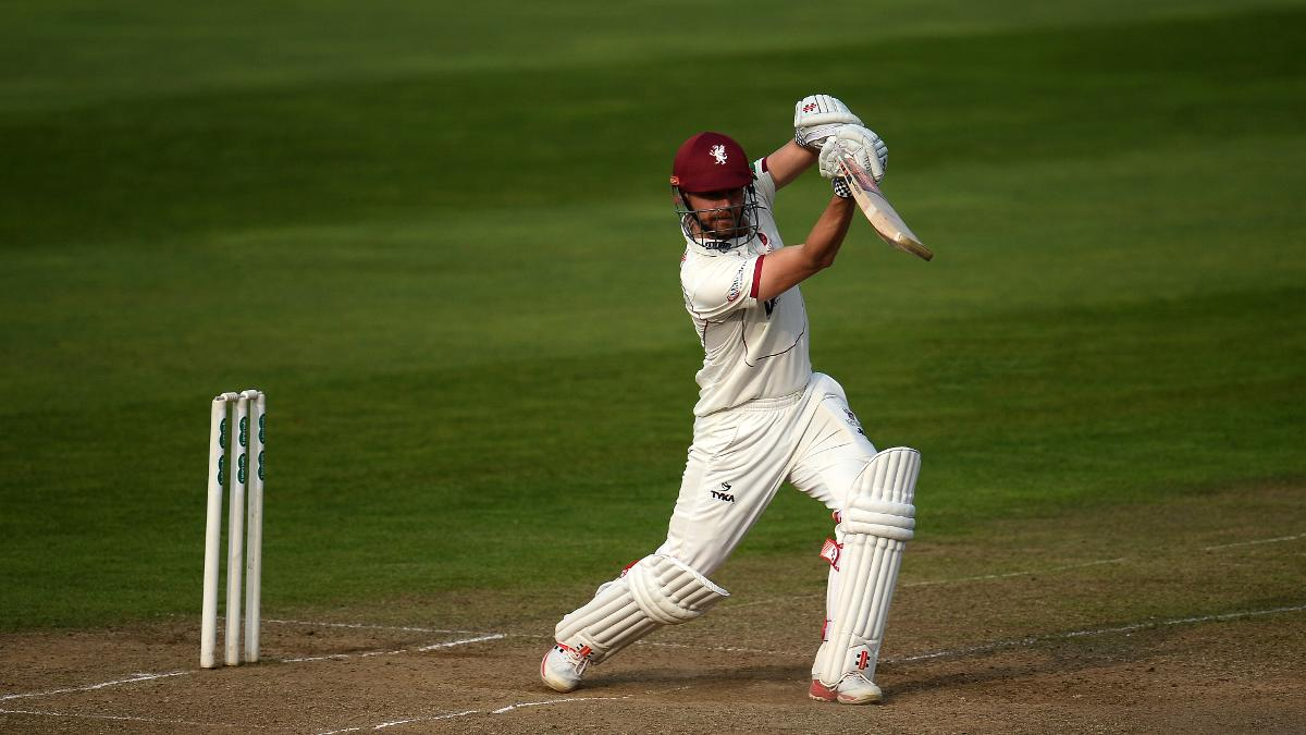 James Hildreth looked on a mission to extend Somerset's lead