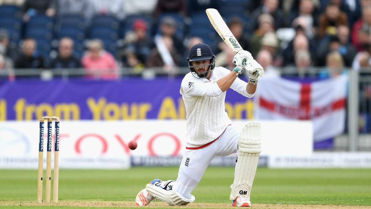 James Vince played in seven Test matches for England last year
