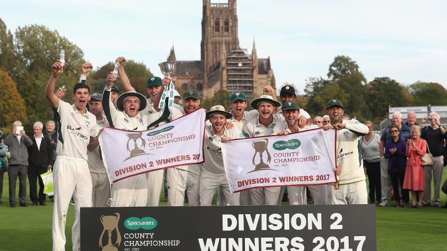 Div Two: Worcs take title as Notts promoted