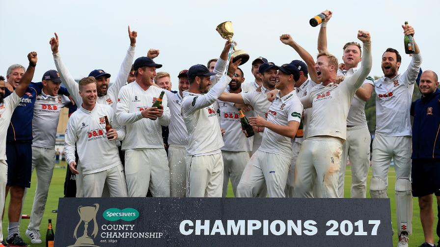 Essex County Cricket Club - Specsavers County Championship Champions 2017