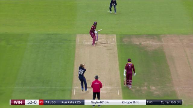 5th ODI, England v West Indies, Royal London One-Day Series