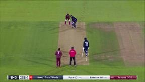 Root six gives England the win
