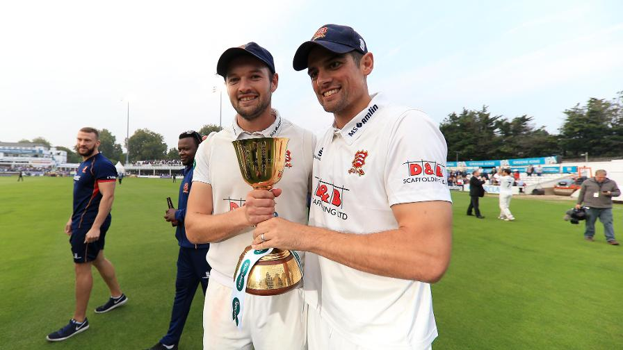 Nick Browne and Alastair Cook