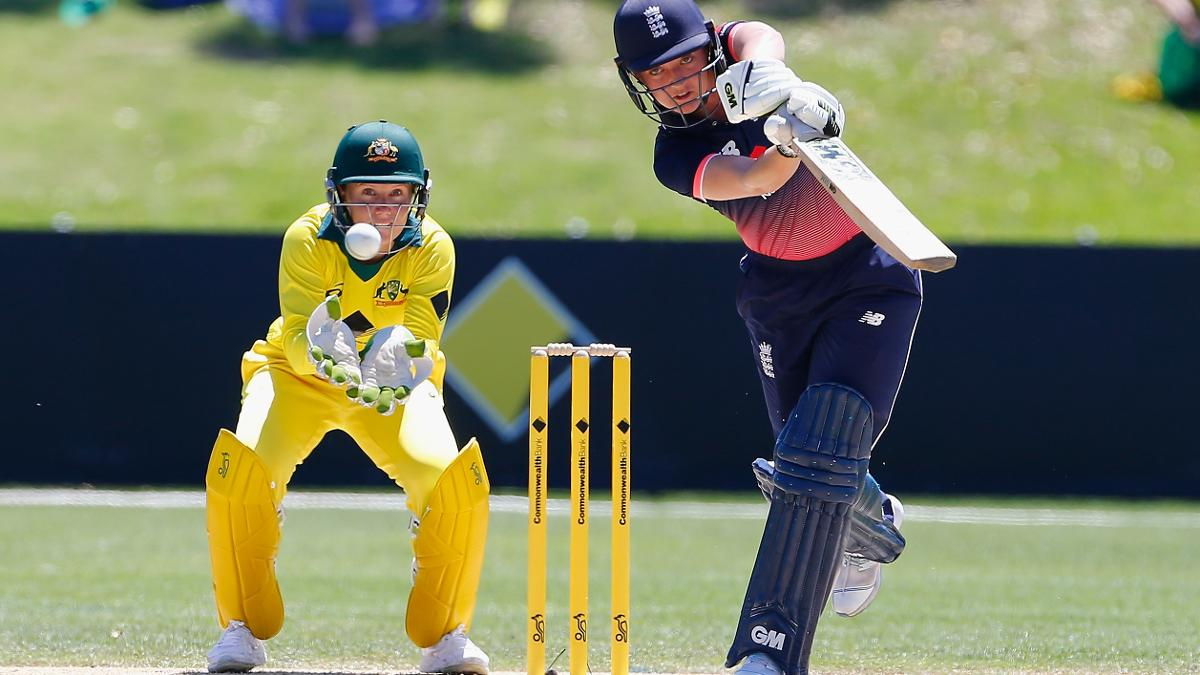 Sarah Taylor made an entertaining 69 off 66 deliveries