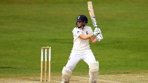 My Ashes debut - Heather Knight
