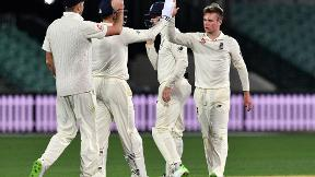 Ashes tour match highlights - Mason Crane impresses for England