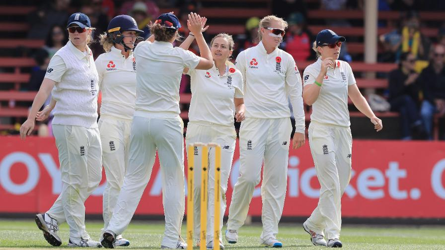 The story at stumps: Women's Ashes Test day three