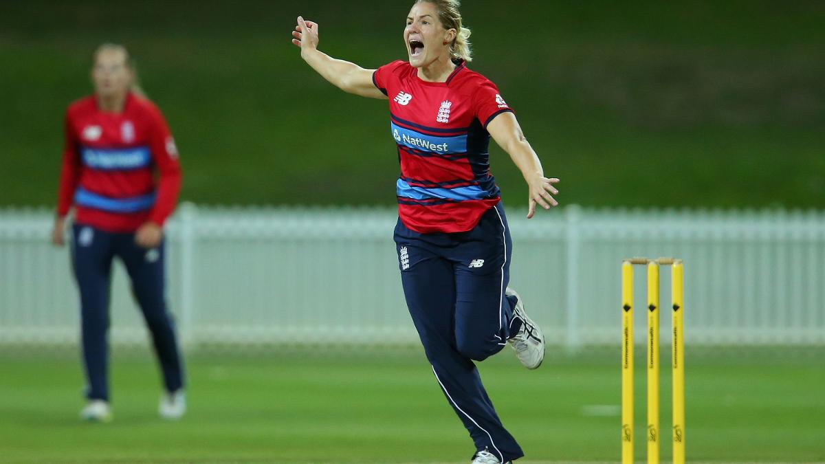 Katherine Brunt removed captain Nicole Bolton first ball