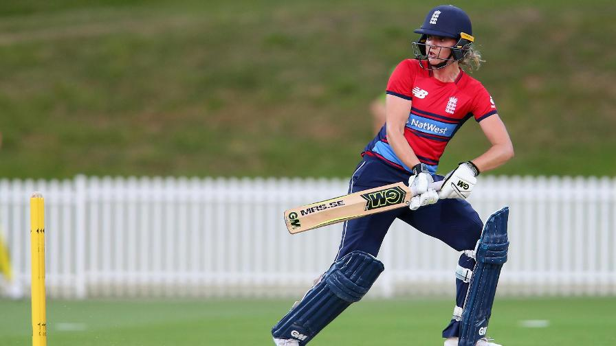 England win T20 warm-up by 90 runs