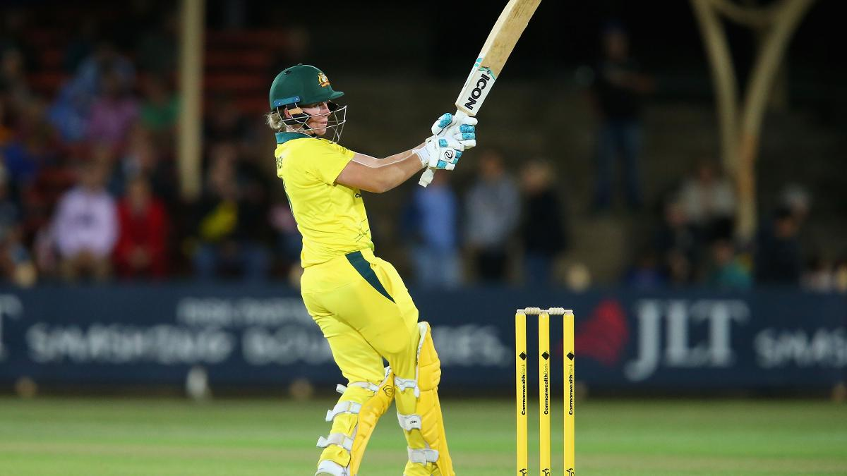 Player of the match Beth Mooney was the lynchpin of Australia's chase with 86 not out