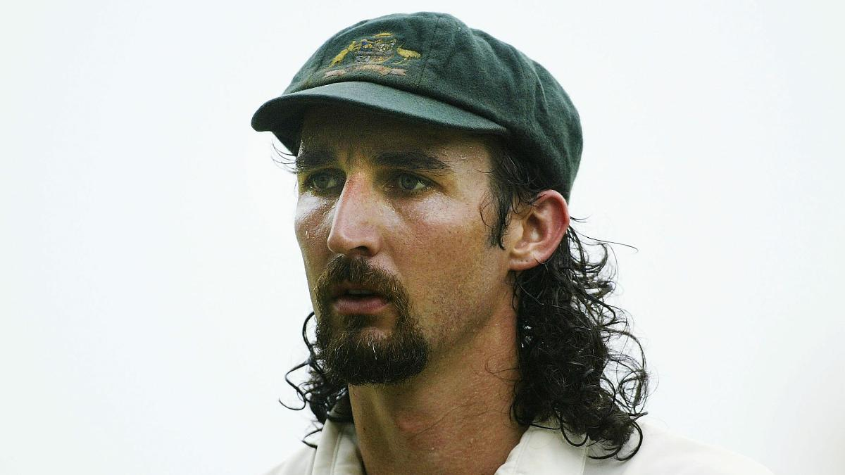 Jason Gillespie during his Australian Test match career