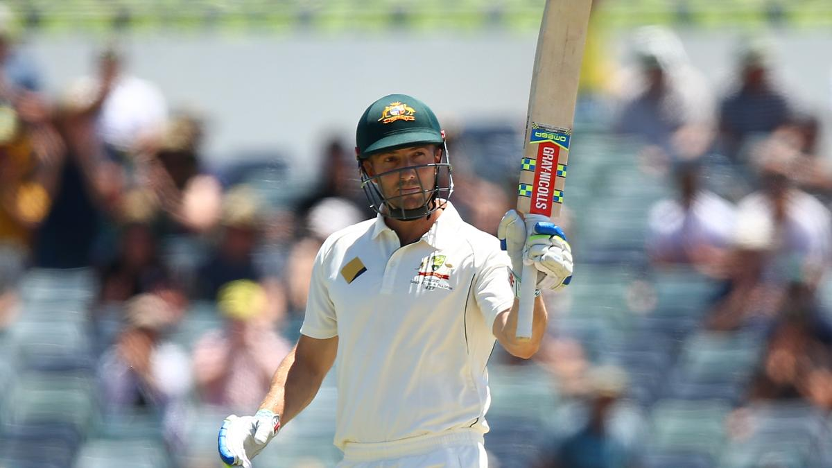Shaun Marsh in action for Australia