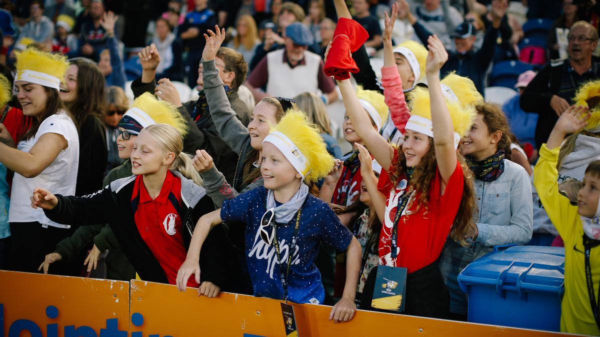 Fans at the 2017 Kia Super League Final