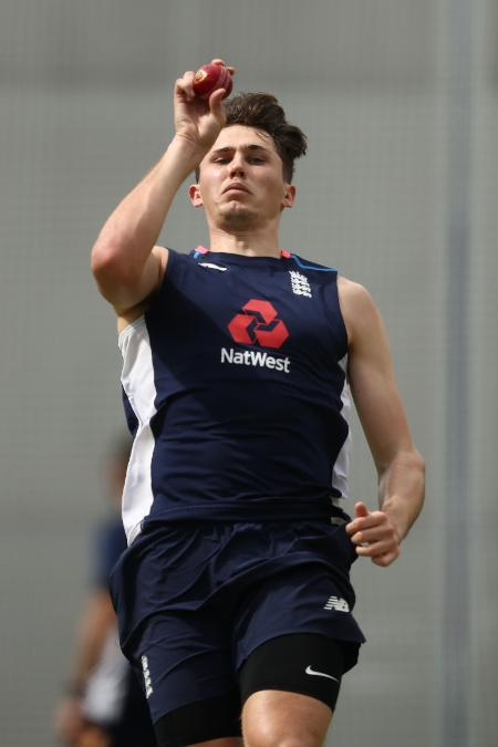 Paul Coughlin training with England Lions