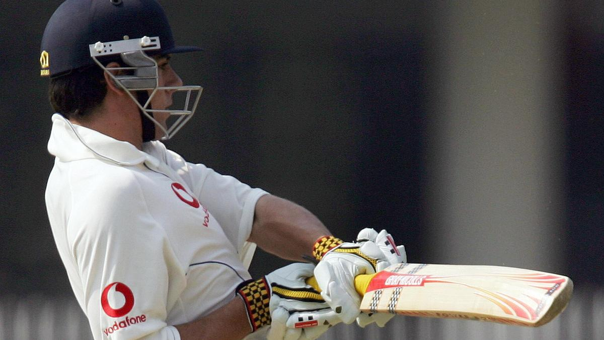Alastair Cook on debut in Nagpur - 2006