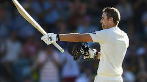 DAWID DELIGHT - Malan toasts his maiden Test ton