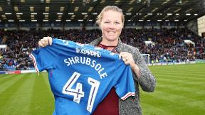 Anya Shrubsole quizzed on her chosen subject Portsmouth F.C.