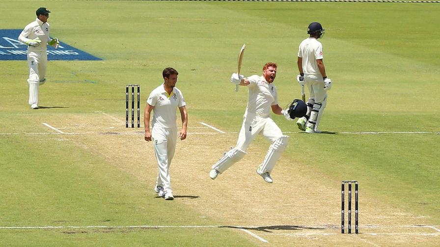 It was Bairstow's fourth Test century and first against Australia.