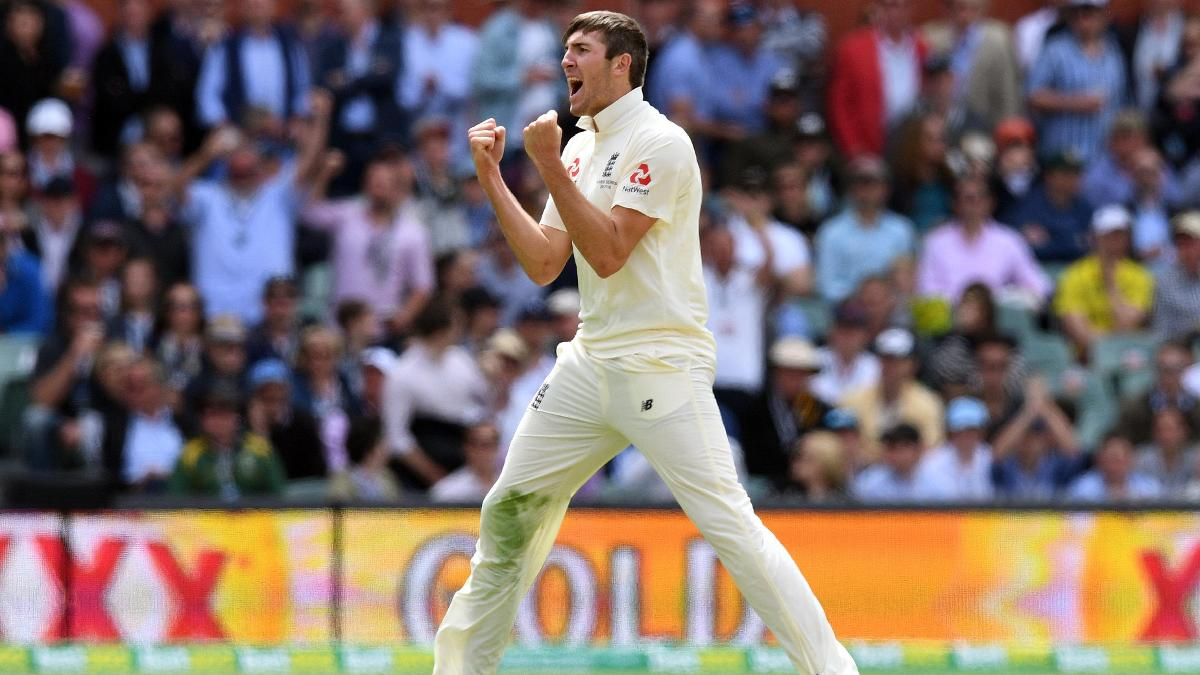 Craig Overton impressed on his Test debut in Adelaide