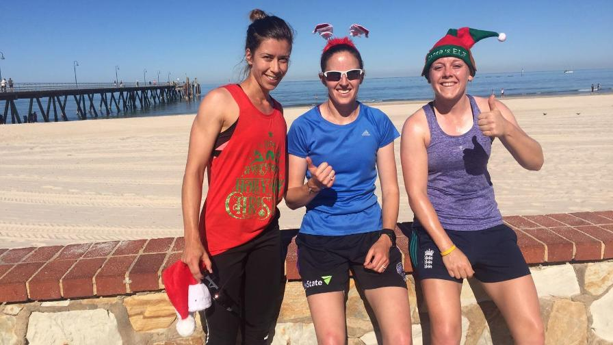 England Women set for Christmas Day charity run