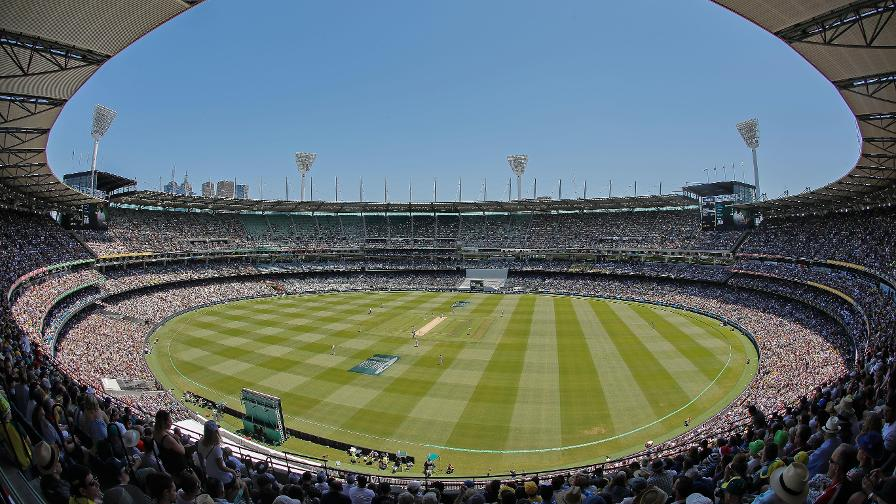 More than 88,000 fans crammed into the MCG