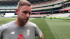 Broad: Hard work paid off in Melbourne