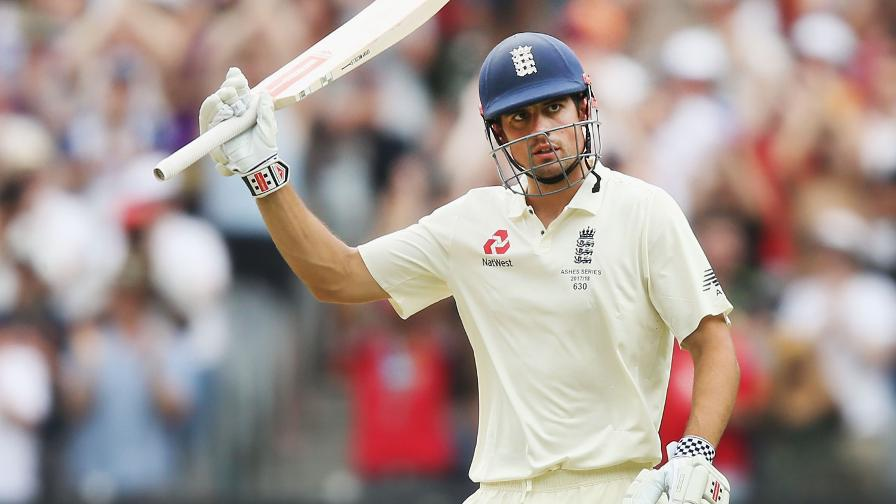 Alastair Cook heads a strong England side for the Lions