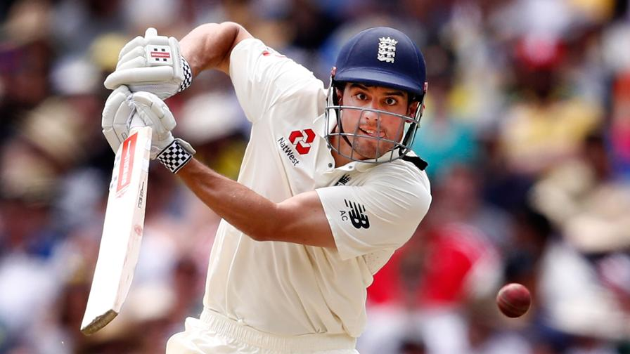 HERO - Alastair Cook. Never satisfied with just a ton