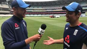 Stuart Broad interviews Alastair Cook after epic Ashes double hundred