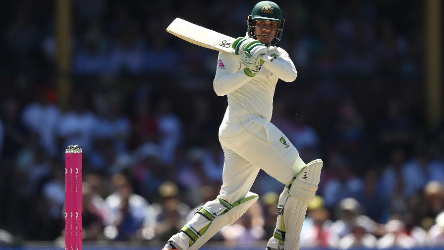USSIE, USSIE, USSIE - Khawaja looks calm and collected as he passes 50