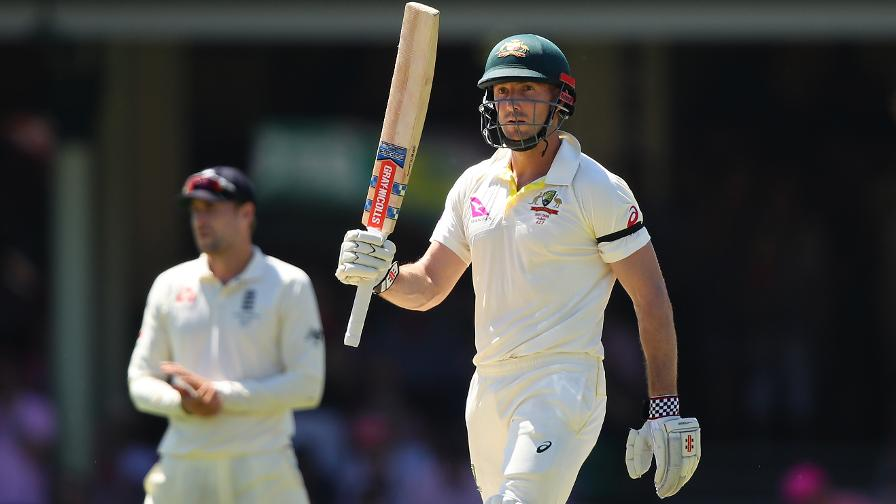 FIFTY SHADES - Marsh celebrates reaching his half-ton