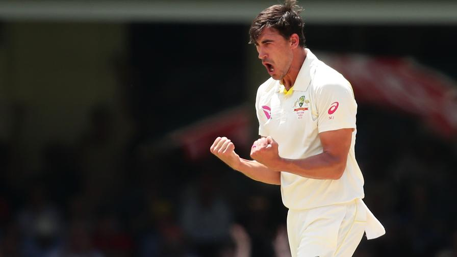 STARC LIFE - Mitchell celebrates his early breakthrough