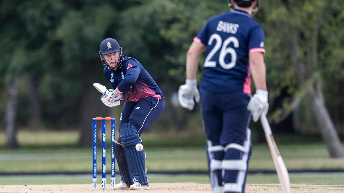 Fin Trenouth hit five fours and five sixes in his 41-ball 73.