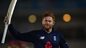 Watch Jonny Bairstow's 141 not out against West Indies