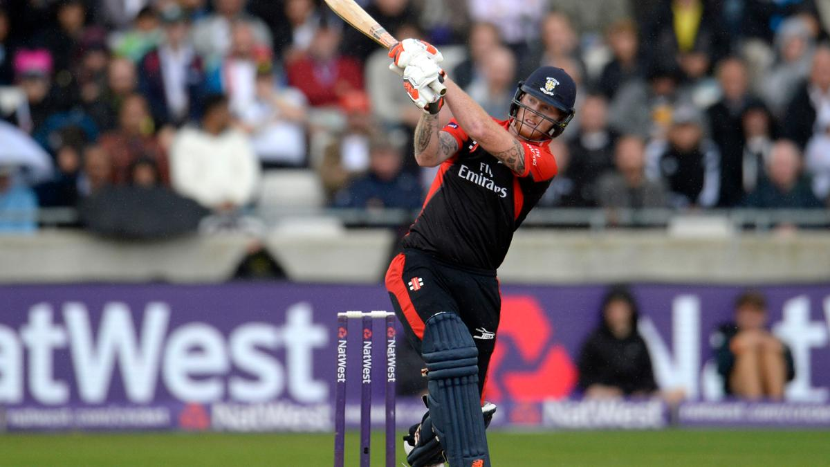 Ben Stokes in action for Durham Jets