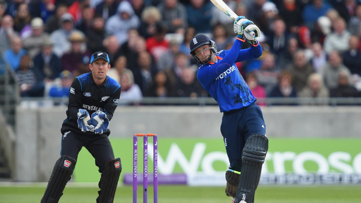 Buttler made his second one-day century in England's 210-run victory over New Zealand in 2015