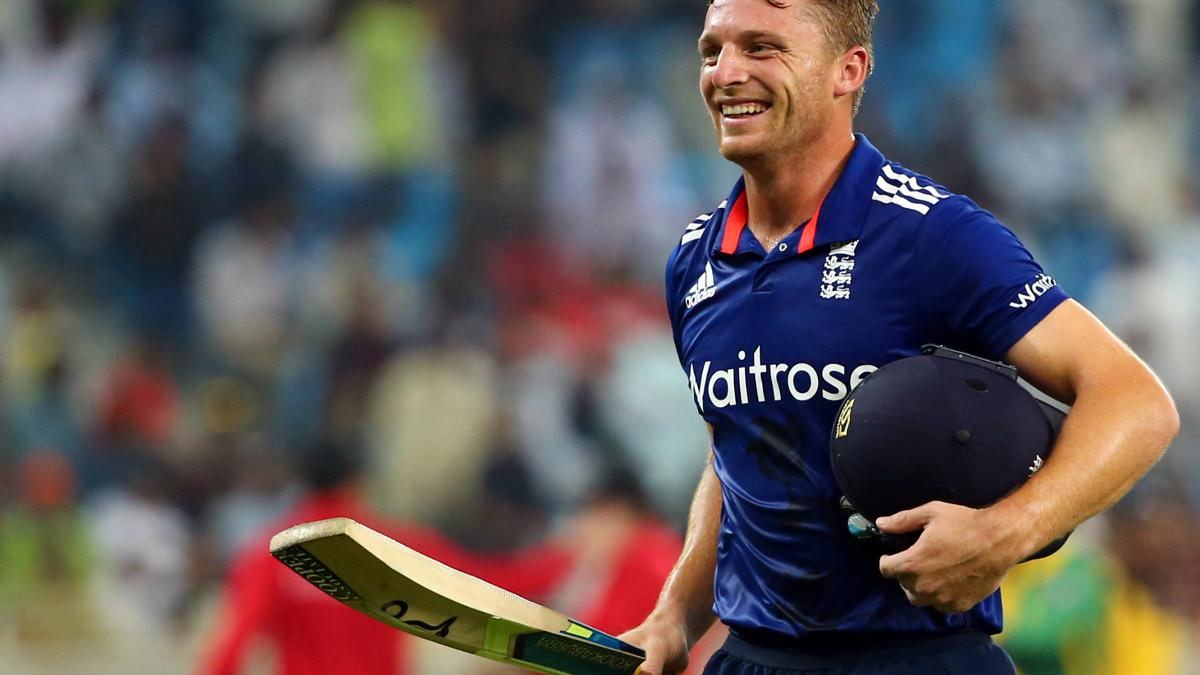 Record-breaker – his rapid-fire knock against Pakistan was the fastest ODI hundred by an England batsman