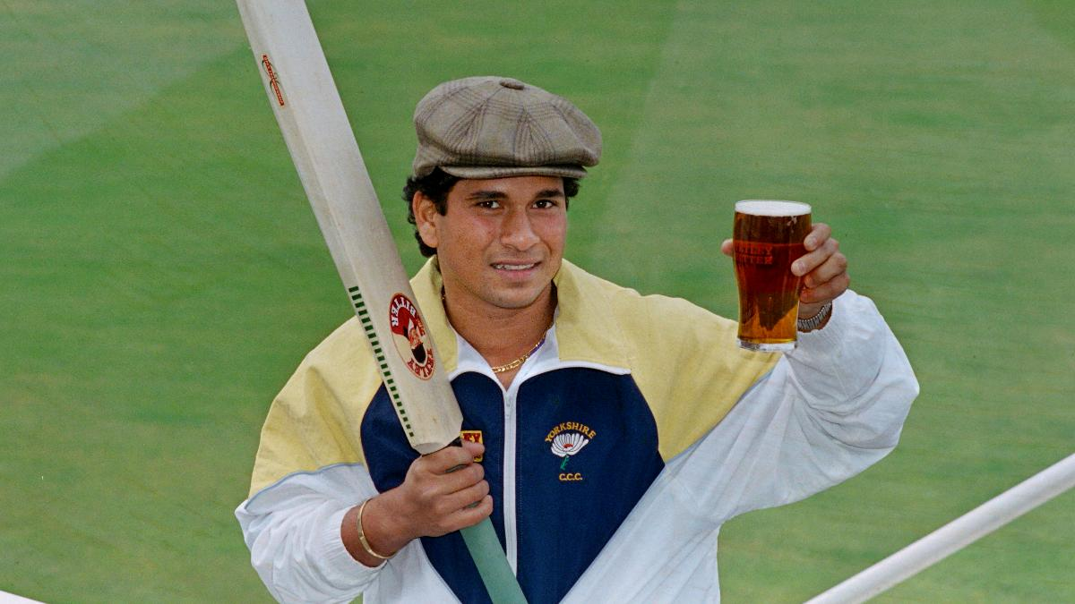 Sachin Tendulkar became Yorkshire's first ever overseas cricketer in 1992