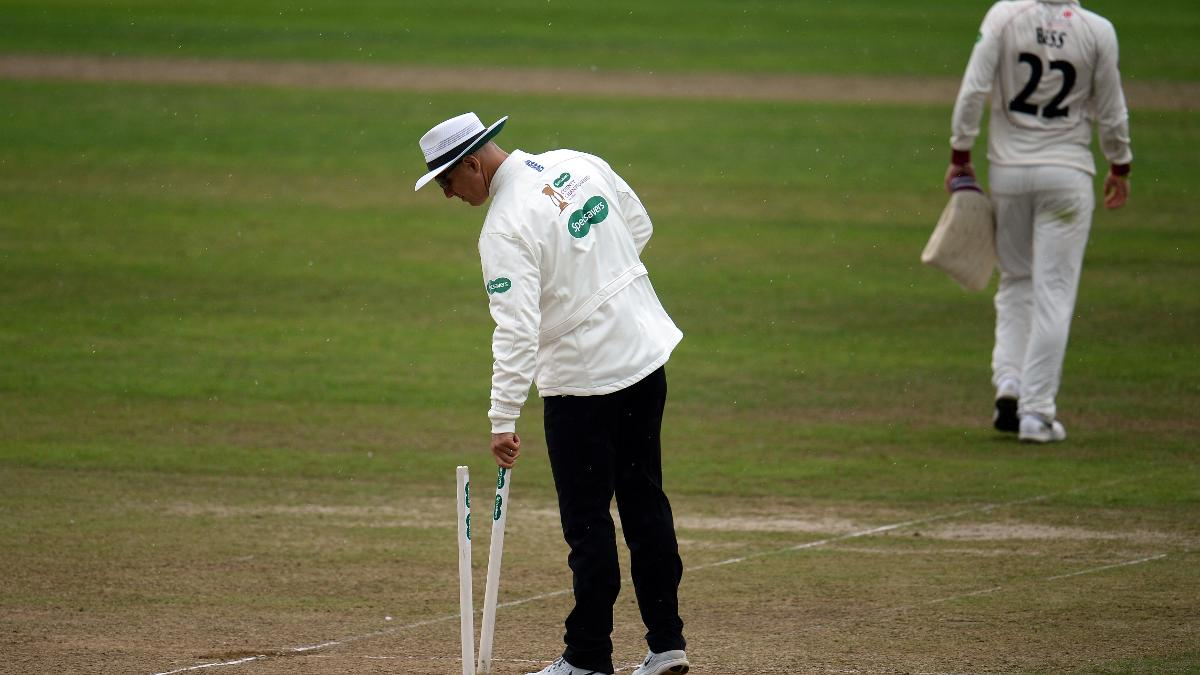 Alex Wharf retired in 2009, and by 2011 he was umpiring his first senior matches
