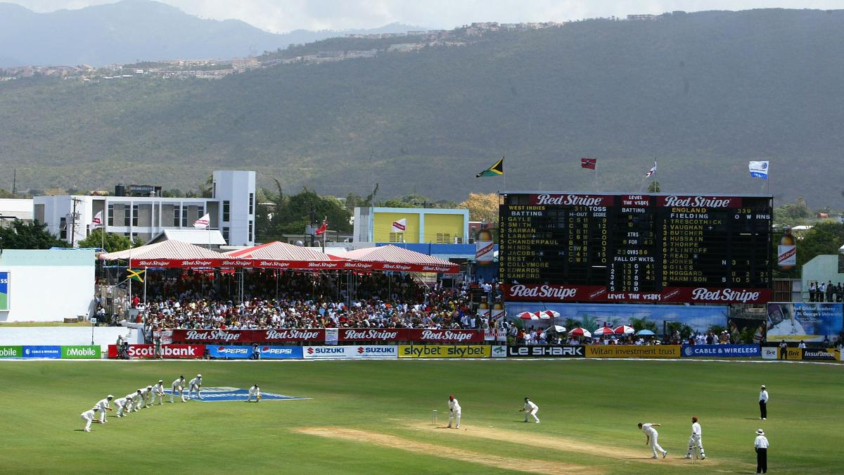 England Lions will play their first tour fixture at the legendary Sabina Park ground in Jamaica