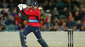 Watch David Willey hit 34 runs off a single over