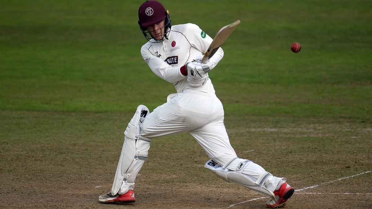 Somerset's George Bartlett goes on the attack in the Specsavers County Championship