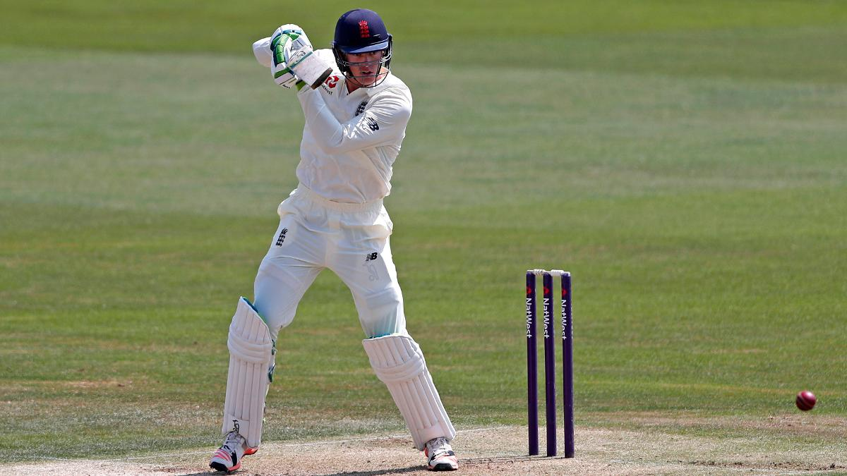 Keaton Jennings made 49 on the opening day
