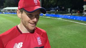 Eoin Morgan on England's best all-round performance of the tour
