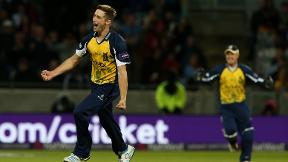 Who won the final over rematch - Woakes or Flintoff?