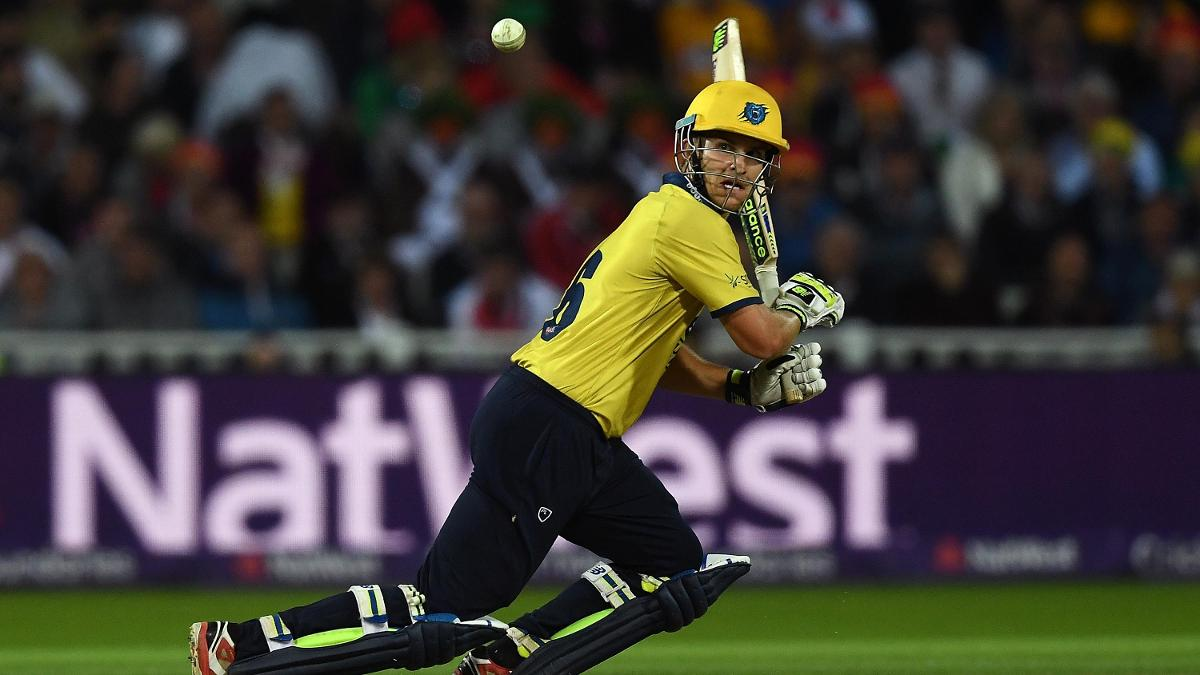 Warwickshire batsman Sam Hain impressed on his Lions debut