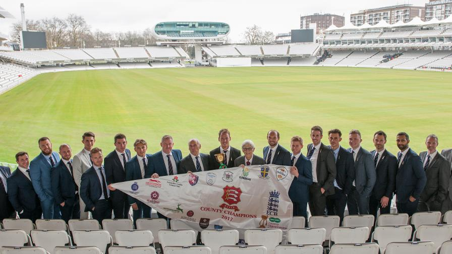 County winners recognised at Lord's