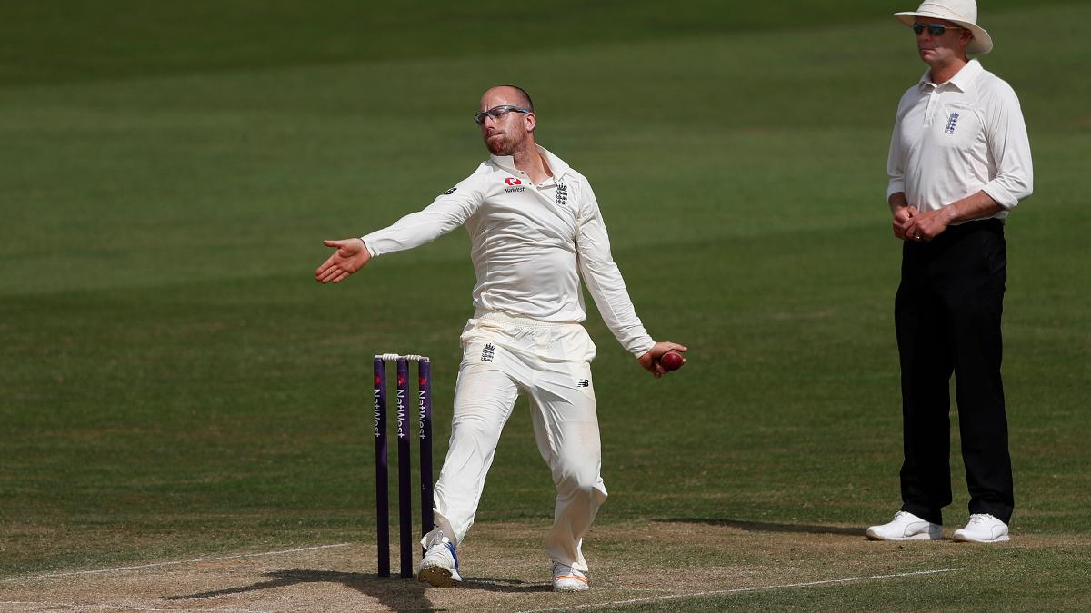 Leach took 18 wickets in England Lions' three-match tour against West Indies